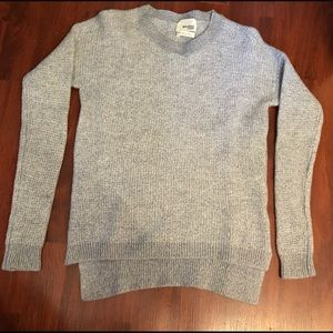 Wilfred free grey knit sweater